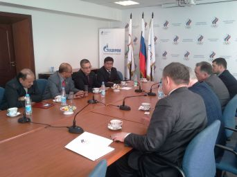 Meeting in the Russian Olympic Building